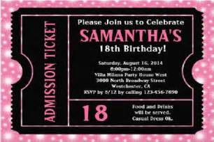 18th Birthday Invitation Templates by Birthday Invitations 365greetings