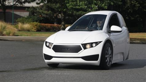 3 Wheel Electric Car For Sale by 3 Wheeled Electric Vehicle Set To Go On Sale This Year