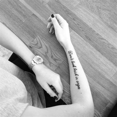 tattoo oasis lyrics 20 lyrical tattoos to inspire the soundtrack for your life