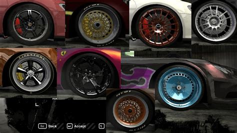 speed  wanted nfs mw rims pack nfscars
