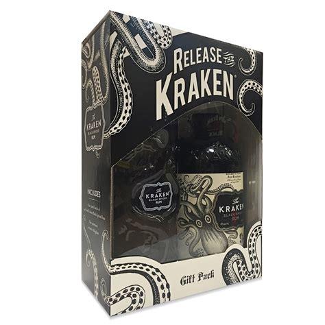 the kraken limited edition ceramic black the kraken black spiced rum with ceramic glass limited