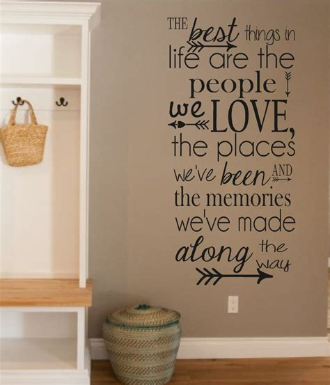 Home Decor Quote 1000 Vinyl Wall Quotes On Pinterest Vinyl Wall Vinyl Wall Decals And Wall Decals