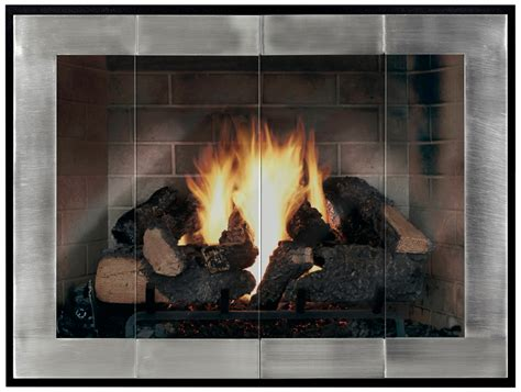 Fireplace Doors Atlanta by Glass Doors Custom Fit The Fireplace Place