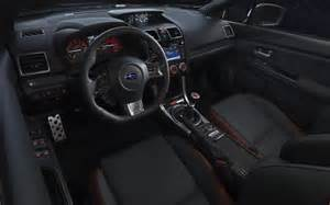 Subaru Sti Interior 2017 Subaru Wrx Pictures Specs Review Release Date Price
