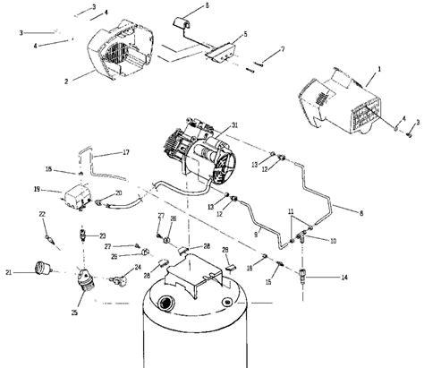 devilbiss parts ra500tve60v type 0 air compressor