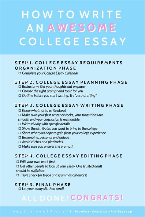 Tips For Writing A College Essay by Best 25 College Application Ideas On Fasfa Application Colleges And School