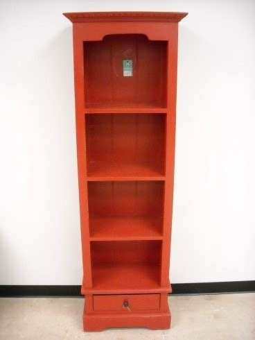 Narrow Bookcase With Drawers Narrow Bookcase With One Drawer Nadeau Indianapolis