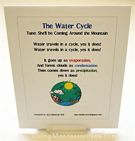 montessori worksheets for toddlers free water cycle free water cycle printables and montessori inspired water