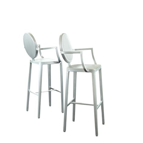 Buy Counter Stools Aluminum Bar Stools Marco Island Cafe Brown Commercial