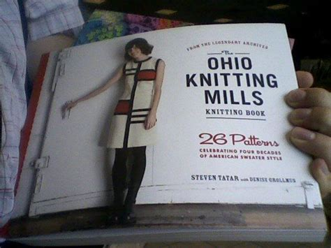 ohio knitting mills craftygryphon knits and now a from knitted objects