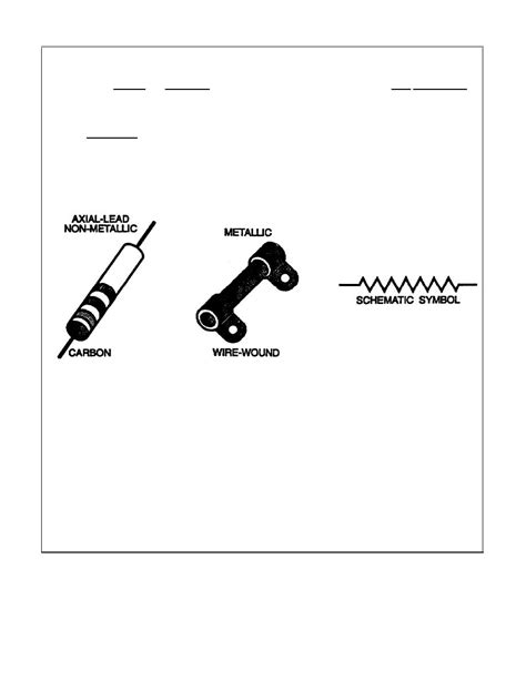 simbol resistor fixed resistor fixed symbol