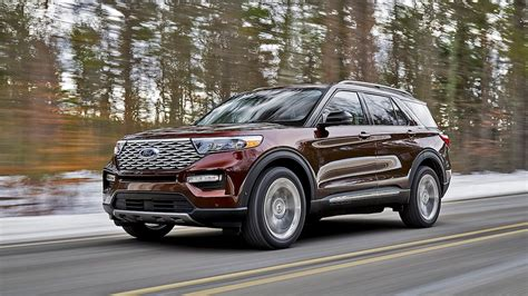 2020 Ford Explorer Design by 2020 Ford Explorer Revealed Atop All New Rwd Based