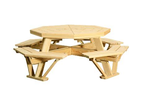 octagonal  table outdoor wooden furniture lancaster