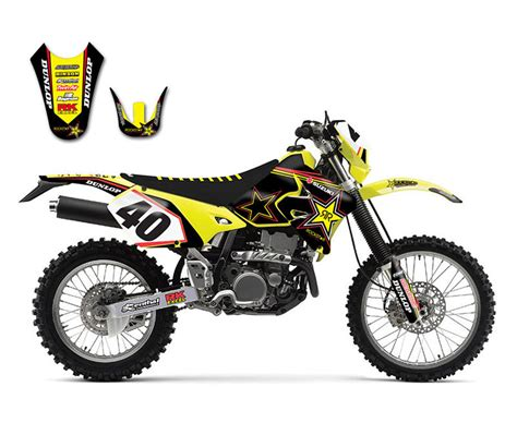 suzuki drz 400 dekor motocicleta motocross 3m pvc stickers decals pegatinas