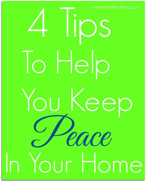 adventures in home staging practical advice to help transform your home from so so to sold books 4 tips to help you keep the peace in your home jen
