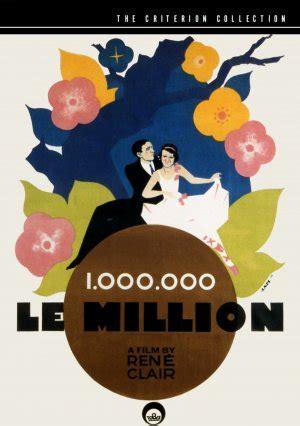 rene clair yönetmen milyon le million 1931 turkcealtyazi org