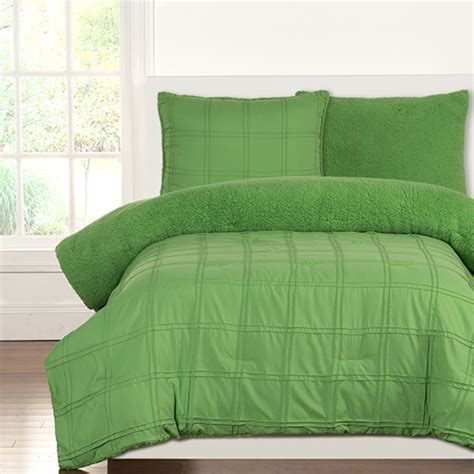 green comforter twin playful plush jungle green by crayola bedding
