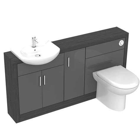 1500 bathroom vanity hacienda 1500 vanity unit grey buy online at bathroom city