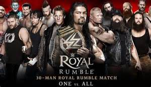 This was the fifth royal rumble to be held in the state of florida