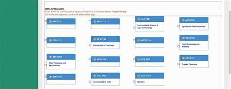 Westminster College Mba Student Portal Login by Student Units Meru Of Science And