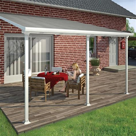 Garden Patio Awnings by Palram Feria Patio Cover 4m Garden