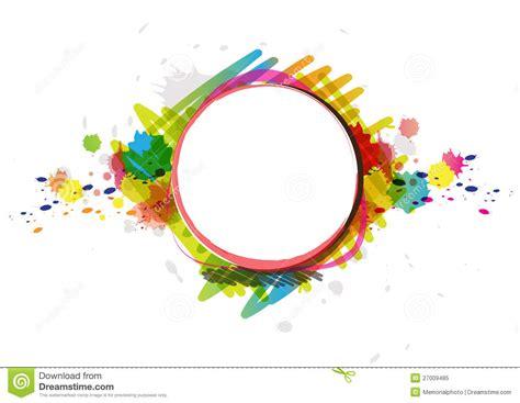 artwork design watercolor paint design artwork stock vector image 27009485