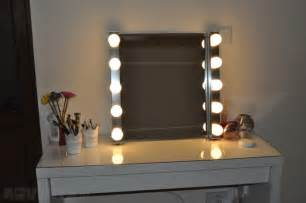 Vanity Mirror With Lights And Table Style Vanity Mirror With Lights For Dressing