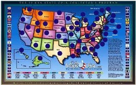 printable state quarter map coinmapusa com national park quarters state quarters