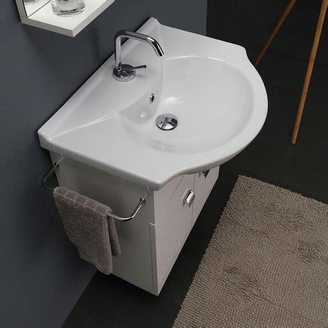 mobile da bagno economico mobile bagno bianco economico da 58 cm lavabo specchio