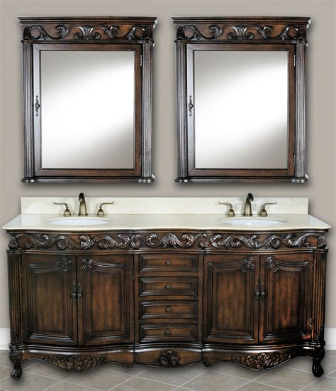 Antique White Double Vanity 73 Inch Mayfield Vanity Double Sink Vanity Antique