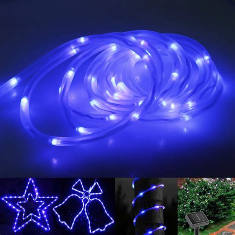 Solar Rope Lighting Outdoor Solar Rope Lights Outdoor Decor Ideasdecor Ideas