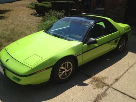 electric and cars manual 1987 pontiac fiero spare parts catalogs find used 1987 pontiac fiero 100 electric car in springfield illinois united states