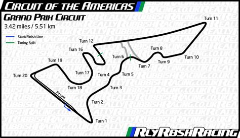 circuit of the americas map file circuit of the americas track map png realish racing