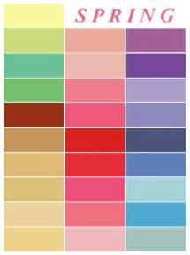 spring colors palette 25 best ideas about spring color palette on pinterest
