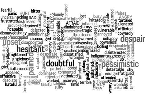 Words Palabras words doubtful pessimistic 183 free image on pixabay