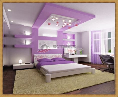 modern bedroom designs with decorative wall niche designs