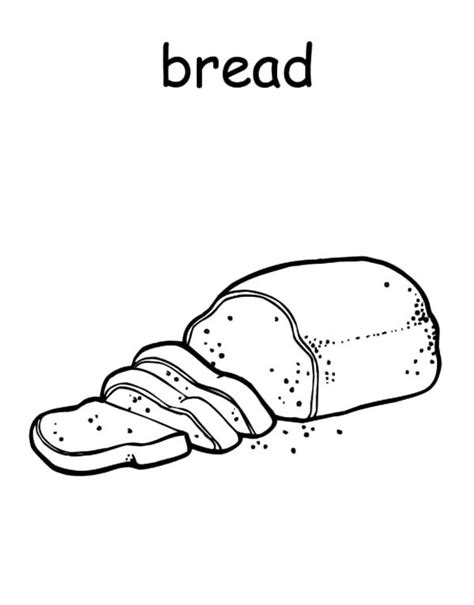 excellent bread picture of bread coloring pages with bread