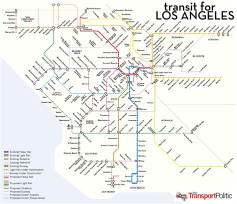Mta Light Rail Schedule Los Angeles Has Big Transit Ambitions But Which Project