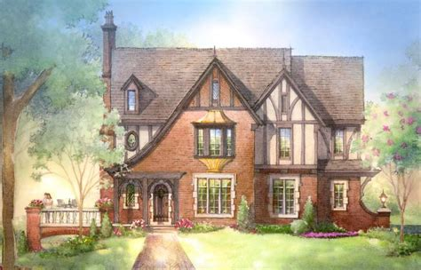 Small Farmhouse Cottage Cottage Cabin Small Country Small House Plans Tudor