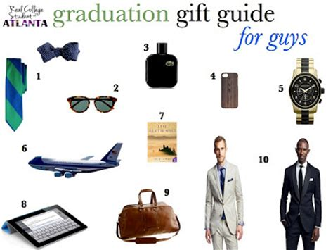 real college student of atlanta graduation gift guide for