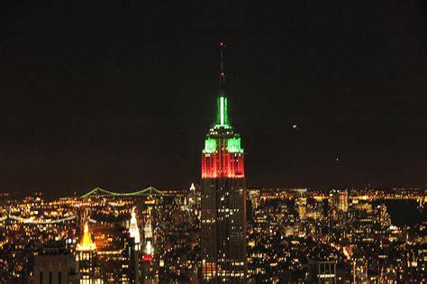 imagenes navidad en nueva york foto empire state en navidad en nueva york ociogo