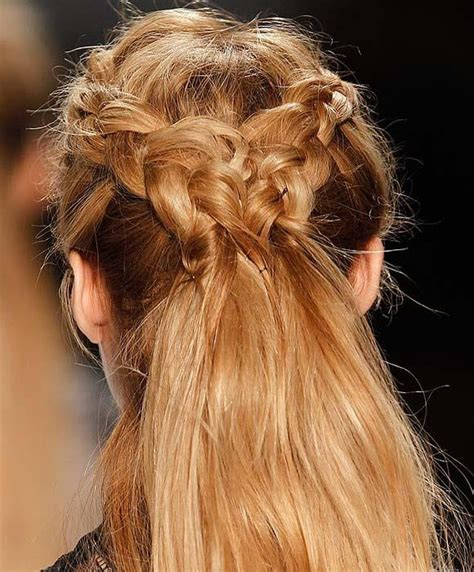 warrior braid hairstyle viking warrior woman hairstyle for shona pinterest