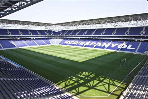 Spanish Home Design by Estadio Espanyol Cornell 224 De Llobregat Building Stadium