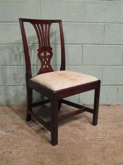 antique mahogany side chairs antique georgian mahogany side chair c1780 antiques atlas
