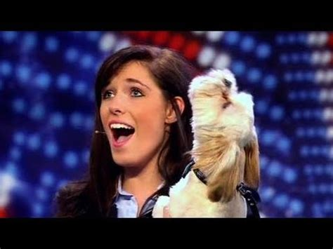 amazing auditions 15 olivia binfield britains got pip and puppy britain s got talent 2011 audition