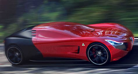 alfa romeo concept cars check out this futuristic alfa romeo c18 concept design