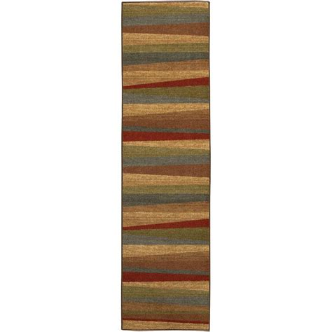 8 foot runner rug mohawk home mayan sunset 2 ft x 8 ft rug runner 162627 the home depot