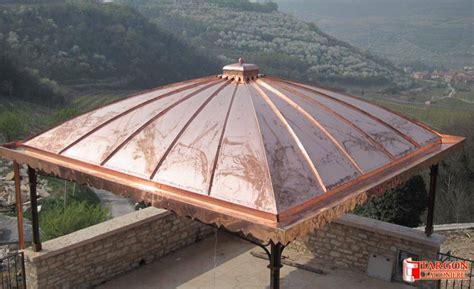 copertura a cupola cupole in rame cupole in rame coperture civili