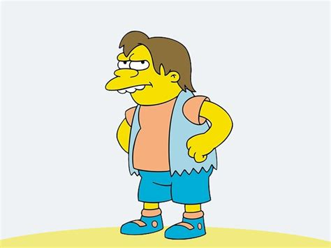 K Simpsons by Nelson Muntz