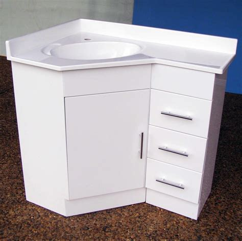 Bathroom Vanity Units Suppliers Corner Vanity 690r 610x910mm Polyurethane Corner Vanity Unit Sydney Bathroom Supply